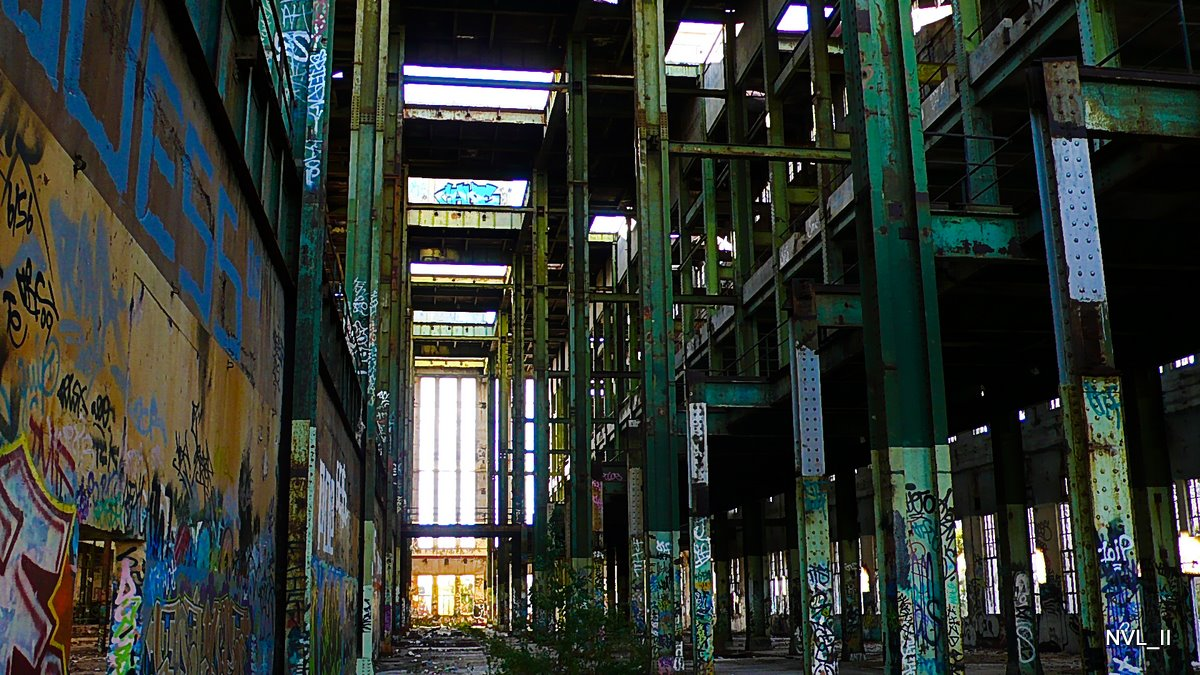Abandoned Power Station Building - Fremantle Australia