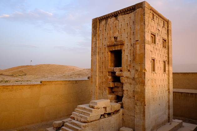 Ka'ba-ye Zartosht - also located at the Naqsh-e Rustam area